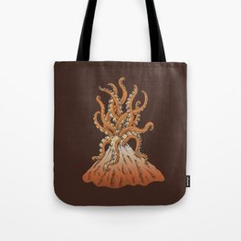 Sticky Eruption Tote Bag