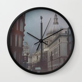 St Paul is Watching You Wall Clock