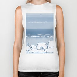 In Paradise Labyrinth Andre Bloc Biker Tank