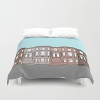 brooklyn Duvet Covers featuring Brooklyn by Home & Anchor