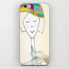 She was known for her interesting hats. iPhone & iPod Skin