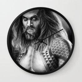 Jason Momoa, Aqua man Wall Clock