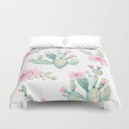 Simply Cactus Rose Duvet Cover