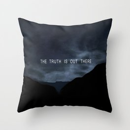 Truth. Throw Pillow
