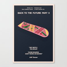 Back To The Future Part II Canvas Print