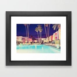 Palm Springs Hotel Framed Art Print