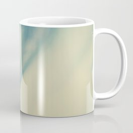 feather blue Coffee Mug