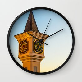 fabulous clock tower Wall Clock
