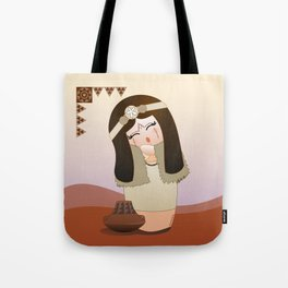 Kokeshi Guanche Tote Bag