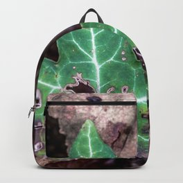 Ivy leaf Backpack