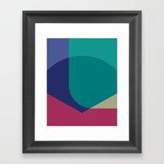 Cacho Shapes XCVII Framed Art Print