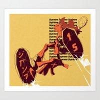 Supreme Jump 15 Art Print
