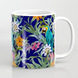 Parrot in Tropical Paradise Coffee Mug