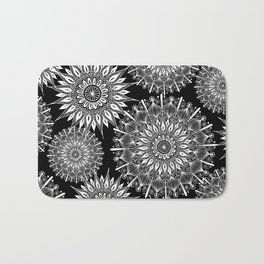 Mandala Negative Bath Mat