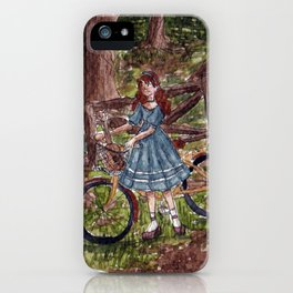 Wandering in the Woods iPhone Case