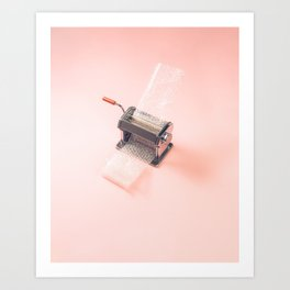 Bubble Wrap Popper Machine Art Print
