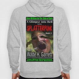 """Splatterpunk"" book cover art with signature Hoody"