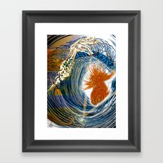 Predestined Fi$hing  Framed Art Print