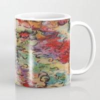 baroque Mugs featuring Baroque by Gertrude Steenbeek