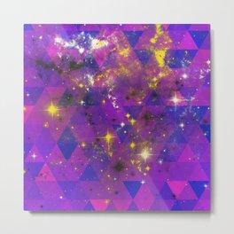Geometric Universe Metal Print