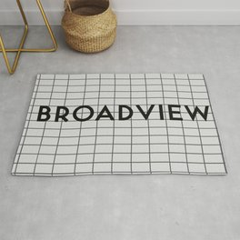 BROADVIEW | Subway Station Rug