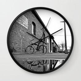 Former railroad depot Wall Clock