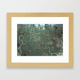 recyclotron Framed Art Print