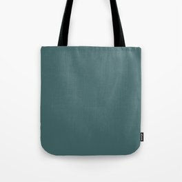 Dark Teal Turquoise Solid Color Tote Bag