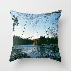 Kingswood Lake Throw Pillow