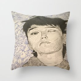 Last One Throw Pillow