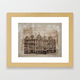 BRU Framed Art Print