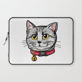 American Shorthair Cat Face Cats Kitty Love Gift Laptop Sleeve