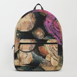 pink tree Backpack
