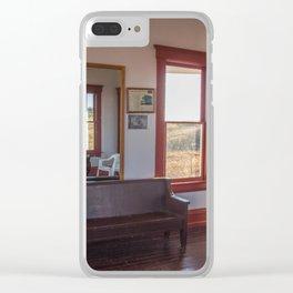 Hurd Round House, Wells County, North Dakota 31 Clear iPhone Case
