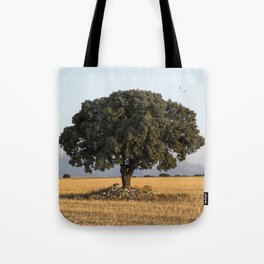 The lone tree Tote Bag