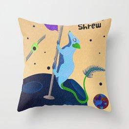 Pen-Tailed Galactic Shrew Throw Pillow