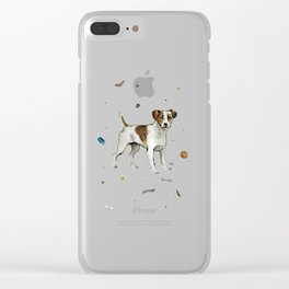 playful jack Clear iPhone Case