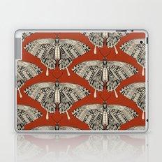 swallowtail butterfly terracotta black Laptop & iPad Skin