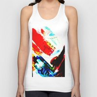 hipster Tank Tops featuring Hipster  by mcmerriweather
