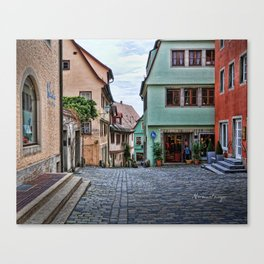 Rothenburg 29 Canvas Print