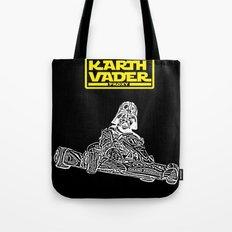 Kart Vader Tote Bag