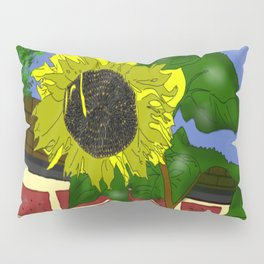 Thee Sunflower by Mgyver Pillow Sham