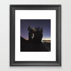 Erosion of Time Framed Art Print