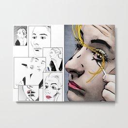 Makeup & Art Metal Print