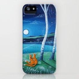 Moon gazers iPhone Case