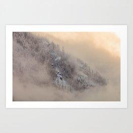 Scene of Winter Art Print