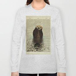 Otter in Love Long Sleeve T-shirt