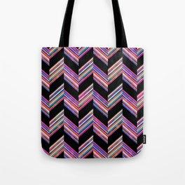 Lilli Chevron {dark} Tote Bag