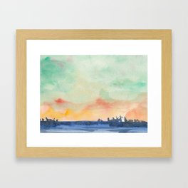 Watercolor 3 Framed Art Print