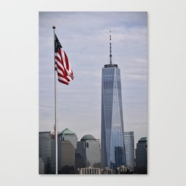 Freedom Symbol/Freedom Tower Canvas Print